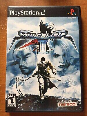 Soul Calibur III 3 ORIGINAL (Sony Playstation 2 ps2) Complete w/ Demo