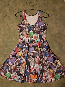 Black milk clothing zombie nation dress size small Stoneville Mundaring Area Preview