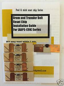 Super-Easy-Tamburo-Cinghia-Di-Trasferimento-amp-Fusore-Reset-Kit-per-INTEC-DMP450