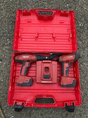 Hilti Sfh 144-a Cordless Drill Driver Kit