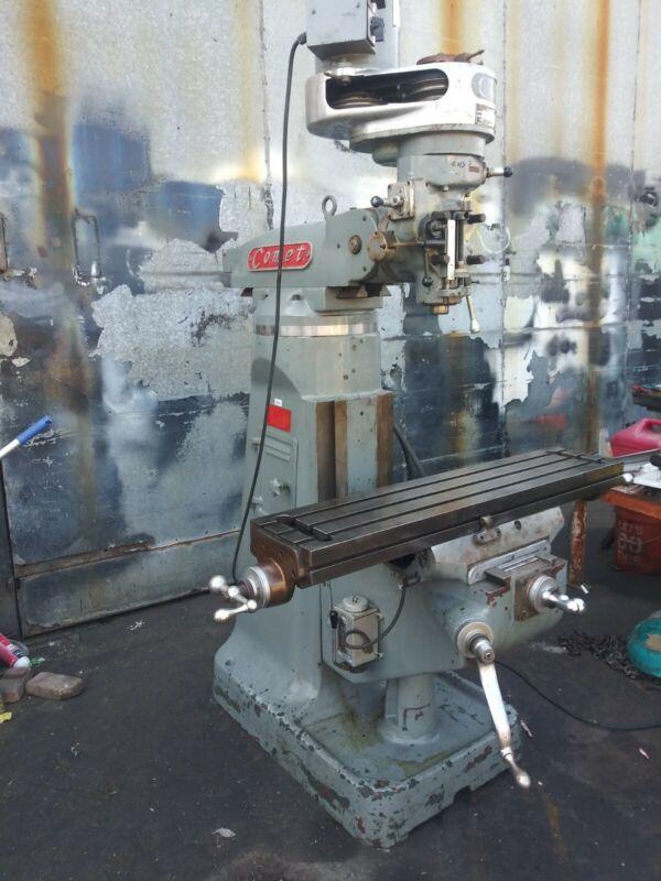 COMET MILLING MACHINE 9 X 42 VERTICAL MILL