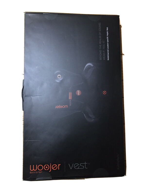 woojer edge Vest Kickstarter + Strap