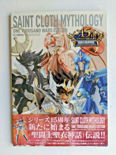 Saint Seiya Cloth Mythology 15th Anniversary One Thousands Wars EX Book NEW