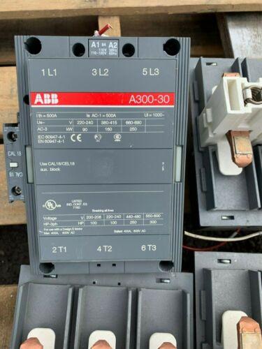 ASEA BROWN BOVERI A300-30 ABB Contactor Motor - 4 Available