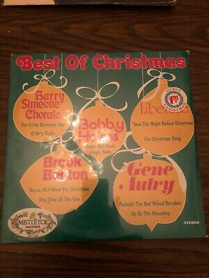 THE BEST OF CHRISTMAS - MISTELTOE RECORDS - LP RECORD VINYL - NEW -