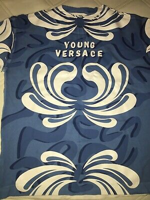Boys Young Versace T Shirt Boys Designer Genuine Age 4