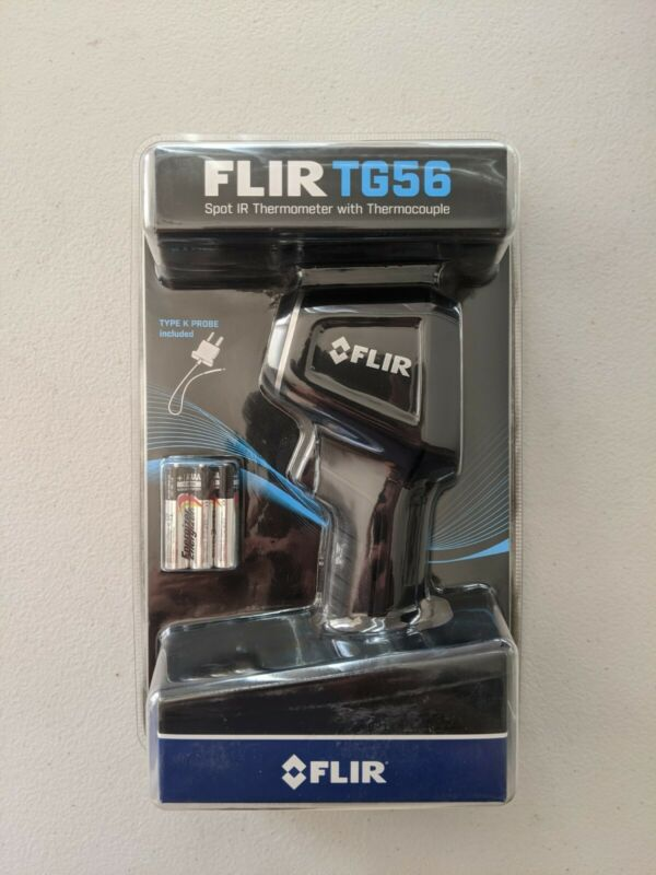 FLIR TG56 Spot IR Thermometer, 30:1 D:S Ratio, NEW in packaging