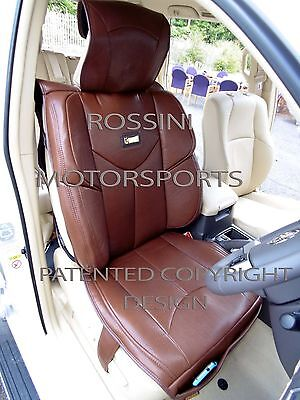 i - TO FIT A CITROEN SAXO CAR, SEAT COVERS, YMDX BROWN, SB BUCKET SEATS