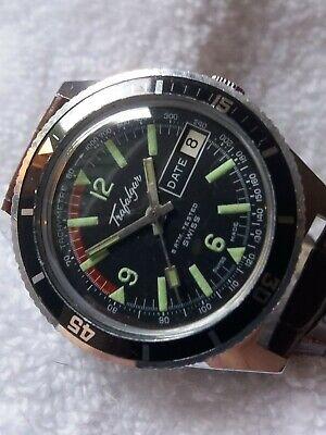 vintage Trafalgar Divers watch