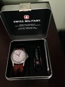 Brand New in box Swiss Army watch and knife