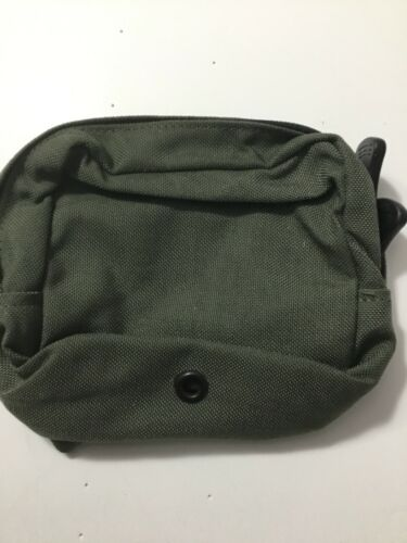 Pre-MSA Paraclete Smoke Green small GP pouch Never issued