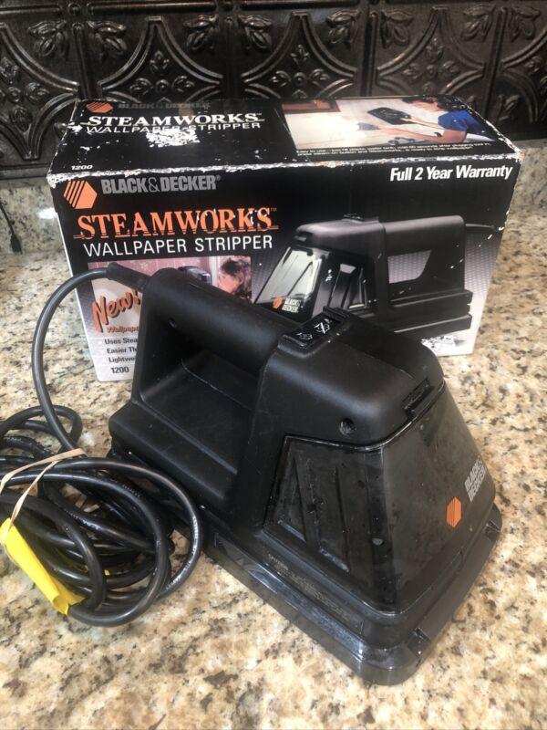 Black & Decker Steamworks Wallpaper Steamer Stripper Model 1200 With Box