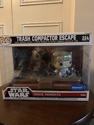 Star Wars Trash Compactor Escape #224 Movie Moments Walmart Exclusive New!
