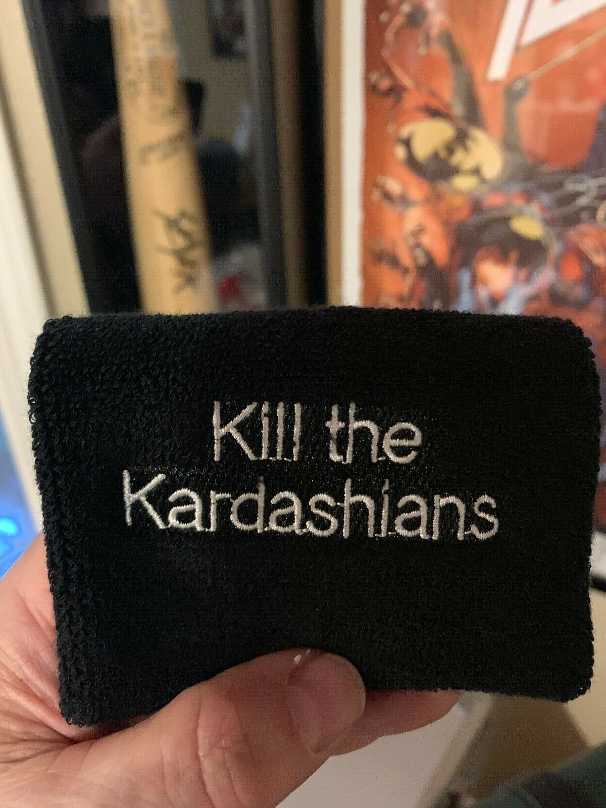 Kill The Kardasian's sweat bands!! SOLD IN PAIRS!