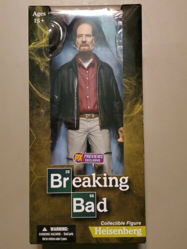 "Mezco Toys Breaking Bad: Heisenberg  12"" Action Figure"