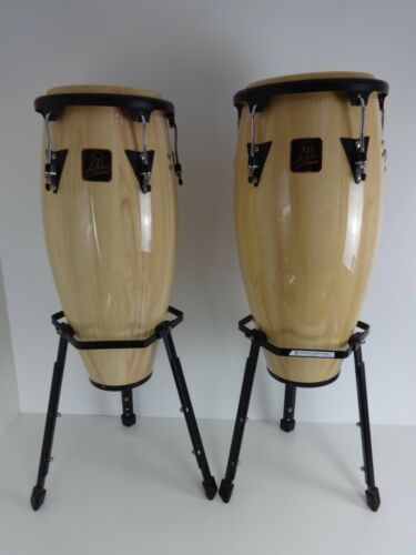 Congas LP Aspire 11&12 Inch Percussion Music Studio Latin Hand Drums + Stands