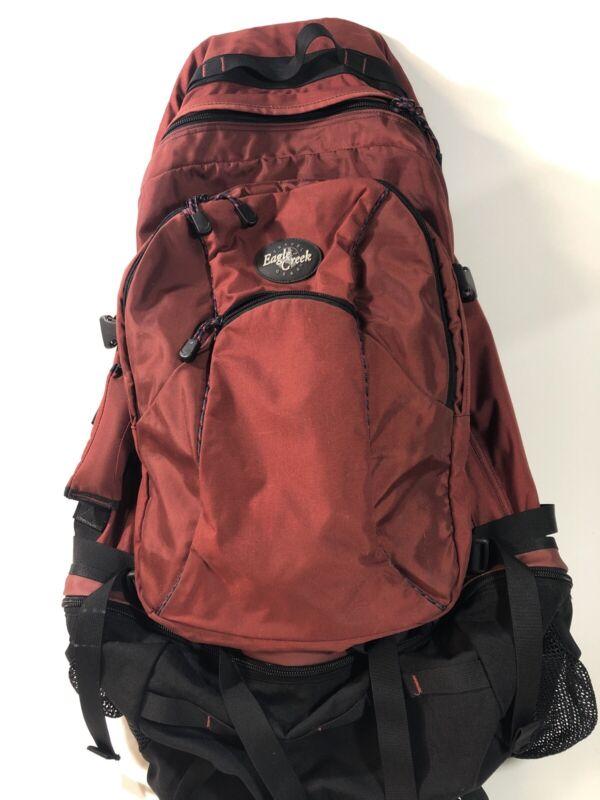 VTG Eagle Creek Global Travel Pack 75 L+10 Double Backpack Red Hiking Travel