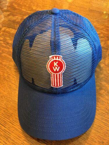 New KENWORTH KW all mesh hat cap tractor heavy equipment A25