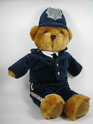 Harrods Teddy Bear Police Knightsbridge London Bobby Stuffed Plush Toy 16 inches