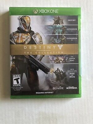 Destiny The Collection: Xbox One Brand New Five adventures