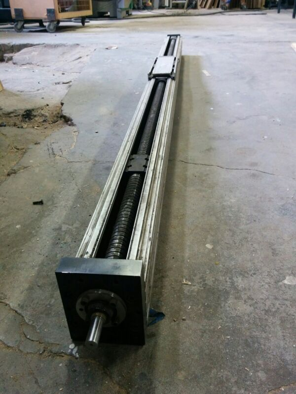 "Rexroth linear ballscrew actuator 88"" Cnc"