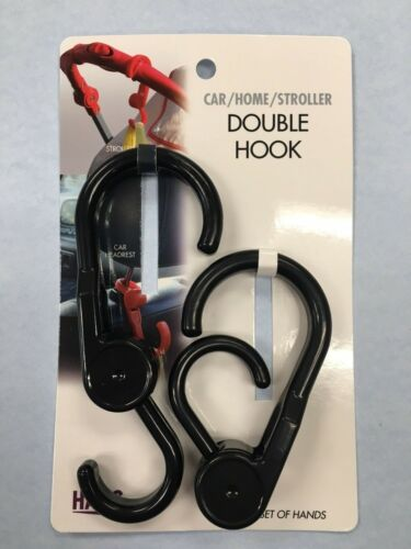 CAR/HOME/STROLLER HOOK 2 PACK