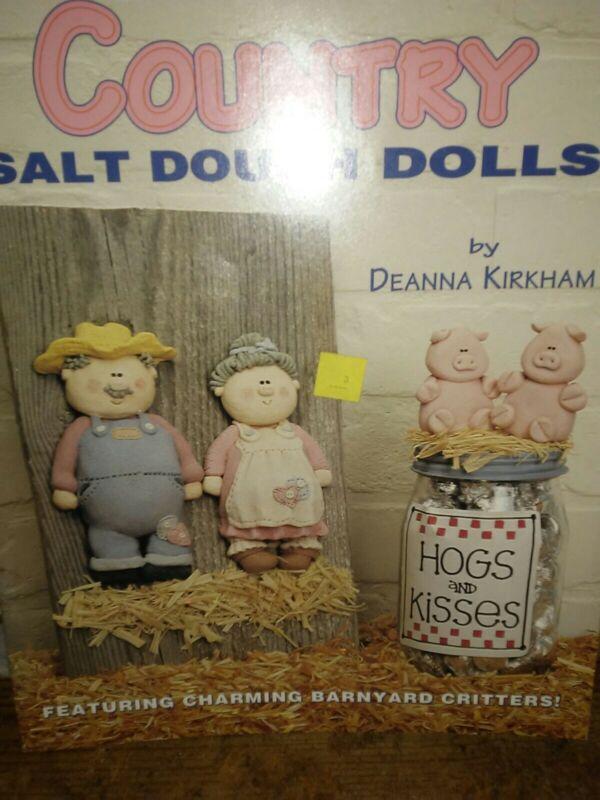 Country Salt Dough Dolls Craft Book