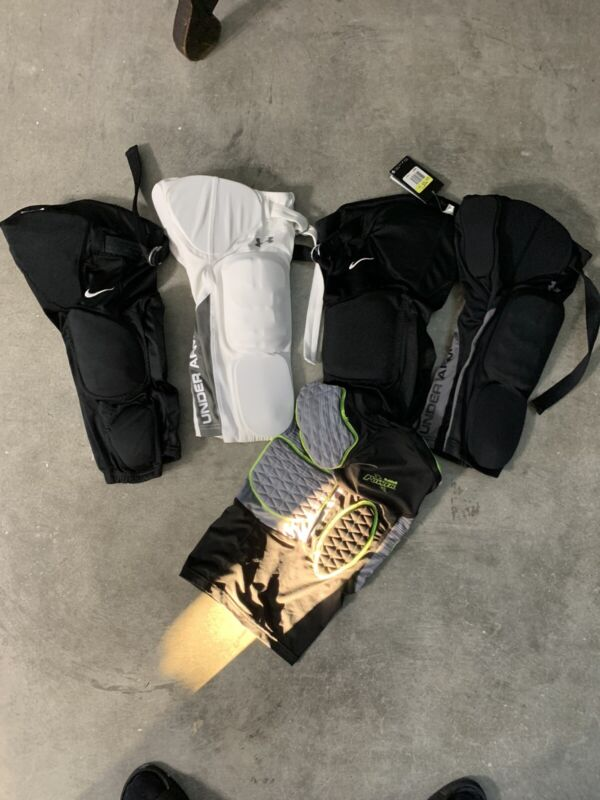 Youth Boys Nike Football Pants + Padded Undershirt Size Small