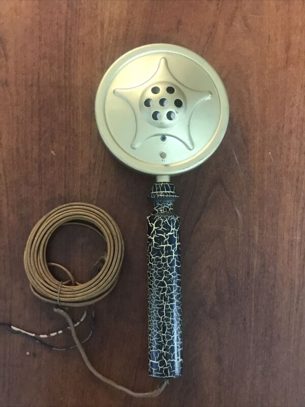 Antique CT Telephone & Electric Co Meriden Telephone Microphone Handy-Mike