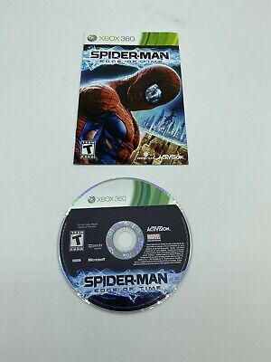 Spider-Man: Edge Of Time - Microsoft Xbox 360 Game Disc & Manual Only