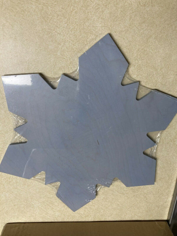 "Longaberger Woodcrafts snowflake LIGHT BLUE 14.5"" X 15"" NIP"