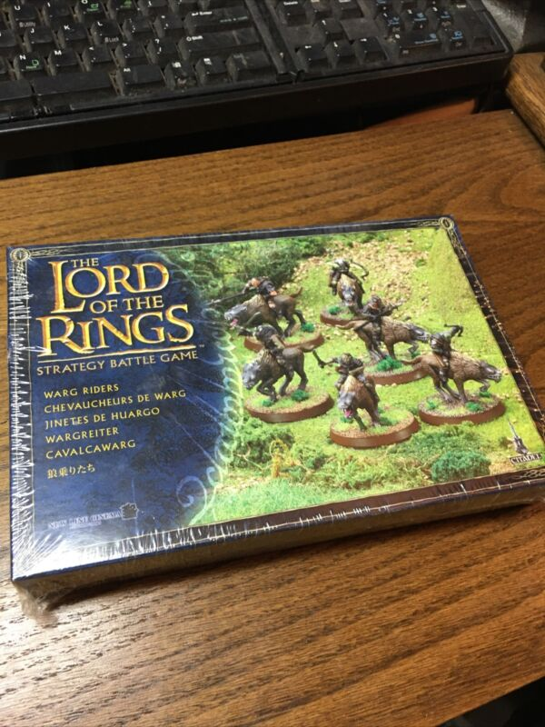 GW Lord of the Rings - Warg Riders - New in Shrink