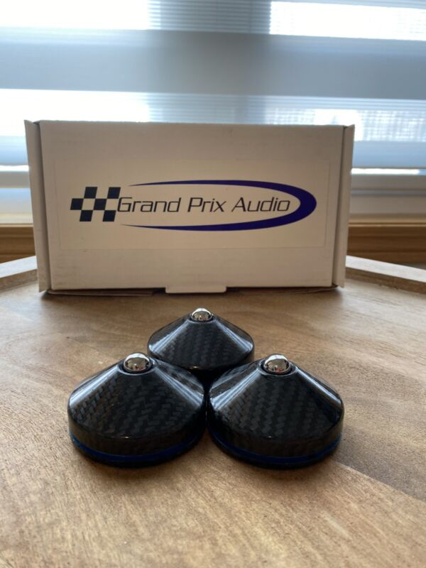 Grand Prix Audio Apex Footers (Set of 3) (STELLAR CONDITION)