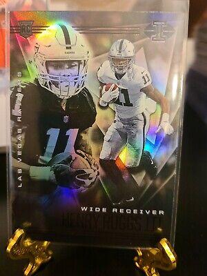 2020 Panini Illusions Henry Ruggs III Rookie Card RC Las Vegas Raiders #19