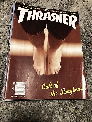 Thrasher Skateboard Magazine July 1995 Frank Hirata Longboard Lance Mountain