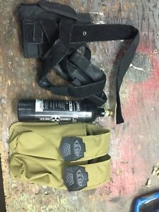 Paint ball holster and pod case