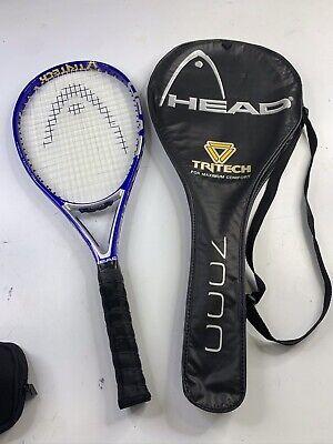 "Case Prince Orange Shark 19/"" x 12/"" Tennis Racket//Racquet Bag Cover"