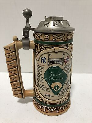 "New York Yankee Stadium LE ""Turn Back the Clock"" Longton Crown Beer Stein Rare"