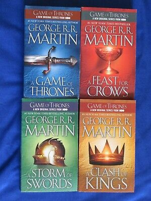 Game of Thrones - A Song of Ice and Fire - 4 Book Box Set