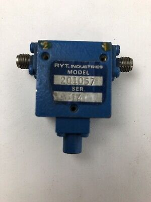Ryt. Industries Rf Microwave Isolator Model 201057 - Fast Free Shipping