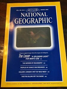 National Geographic March 1984