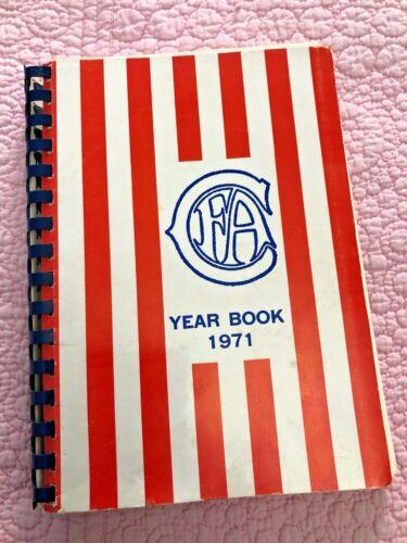 CAT FANCIERS ASSOCIATION CFA YEARBOOK 1971 FELINE SHOW