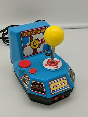 Namco MS. PAC-MAN Galaga TV Plug and Play Game Jakks Tested GAMEKEY READY