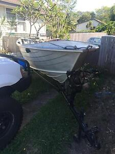 4.3 Savage Ranger boat with a 25 hp engine 12 months rego on trailer Coffs Harbour Coffs Harbour City Preview