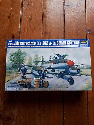"""TRUMPETER 02261 Messerschmitt Me262A-1a """"Clear Edition"""" in 1:32"""