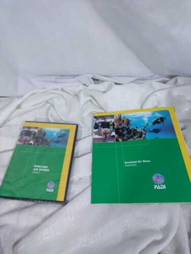 PADI Enriched Air Diving Video Diver Manual Crew Pak
