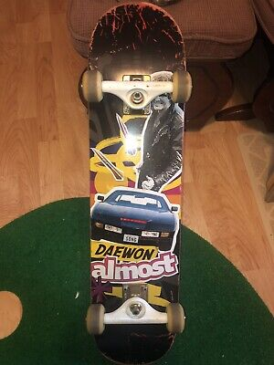ALMOST DAEWON SONG SKATEBOARD KNIGHT RIDER Vintage Classic Powell Tony Hawk DECK