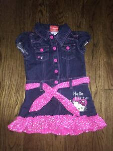 Size 2T Hello Kitty Dress