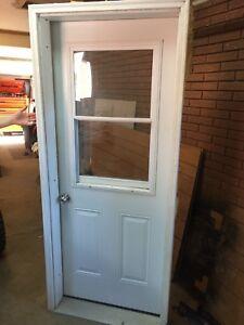 32 inch exterior door