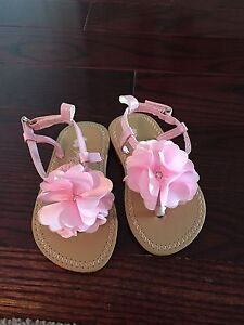 Brand new toddler girl sandals size 4